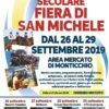 SECOLARE FIERA DI SAN MICHELE DAL 26 AL 29 SETTEMBRE 2019